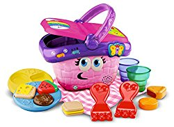 Educational Toys for 2 Years Olds Shapes and Sharing Picnic Basket