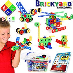 educational toys for 4 year old brickyard building blocks