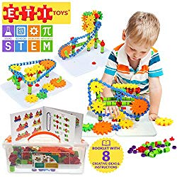 educational toys for 4 year old jumbo gears set