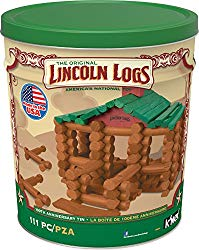 learning toys Lincoln logs