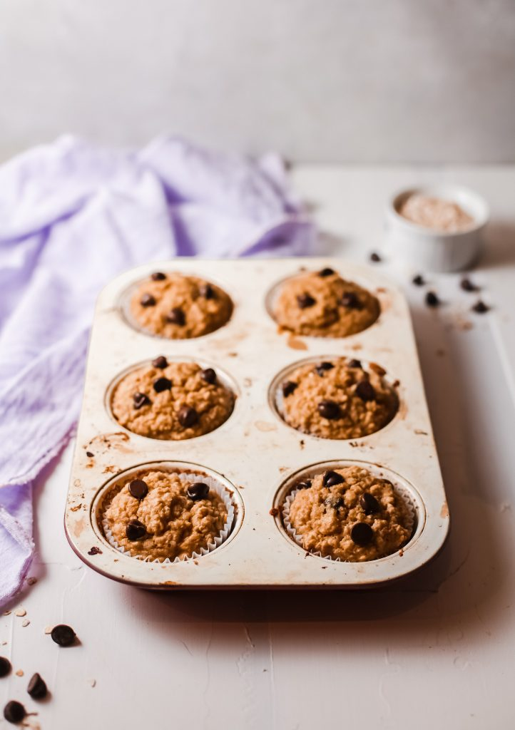 Peanut Butter Baked Oatmeal Cups