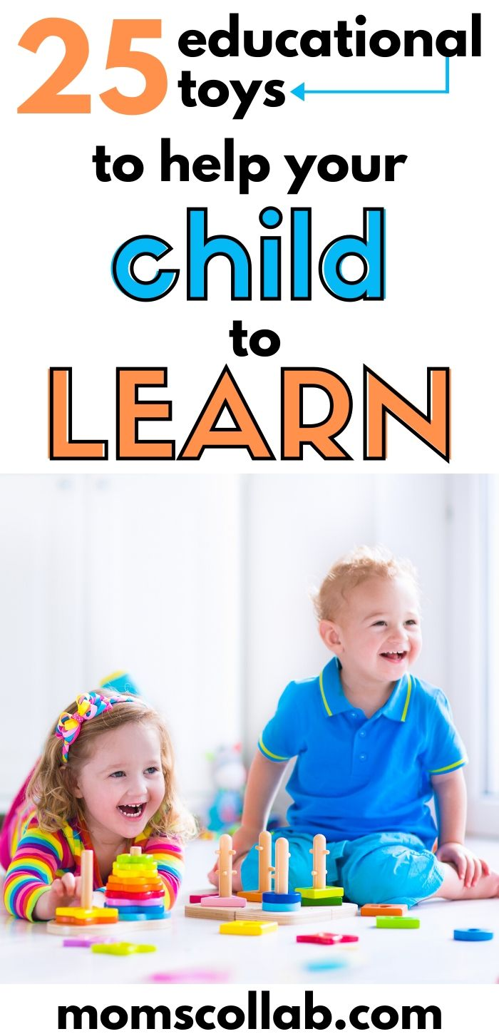 25 Educational Toys to Help Your Child to Learn
