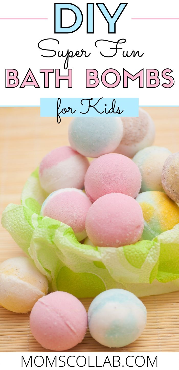 DIY Super Fun Bath Bombs for Kids