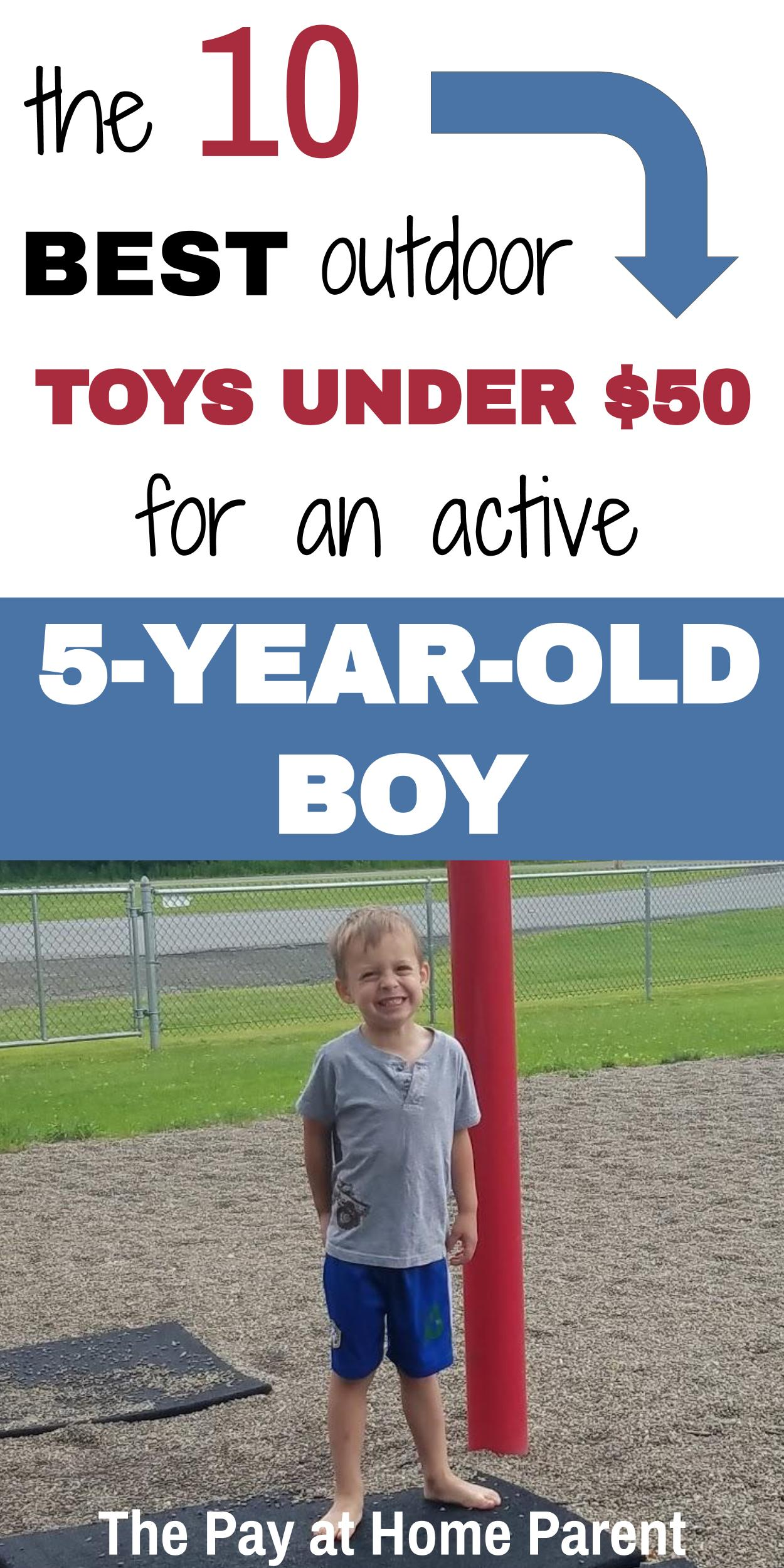 best outdoor toys for 5 year old boy