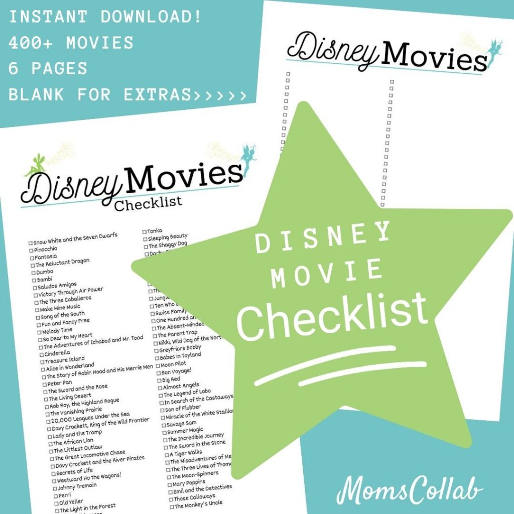 Disney Movie List Fairies Design